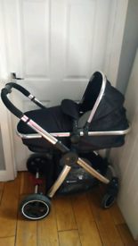 Mothercare Journey pram with accessories