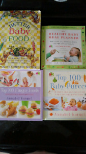 Make your own baby food cookbooks