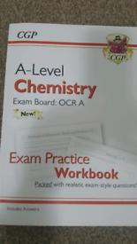CGP Chemistry A Level Exam Practice Workbook