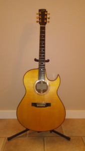 Edward Thompson Florentine Cutaway Guitar