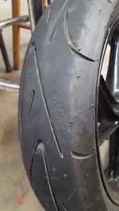Continental 16 in. Front tire.