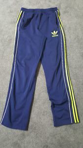 Adidas Blue and Green tracksuit