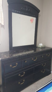 Dresser with mirror ( moving sale)