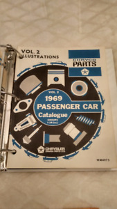 1969 Chrysler Passenger Car Parts Catalogs