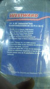 Bâches super-résistantes 20 X 30, 60 ch