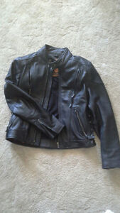 Ladies Motorcycle Jacket Leather