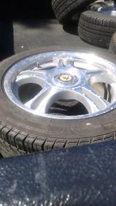 "16"" Tires on rims"