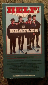 Help! With The Beatles Vhs Movie