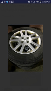 15 inch honda civic rims on tires bolt pattern 4x100