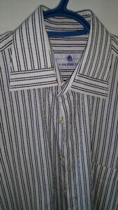Guess H&M Mens Stockhome Designer Dress & Casual Shirts Small CK