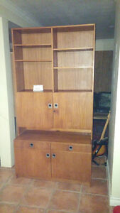 MEUBLES EN TEC - TEAK WALL UNIT