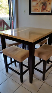 Dining Bistro table negotiable! 150$