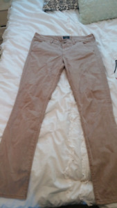 American Eagle Long Skinny Khakis (very lightly worn)