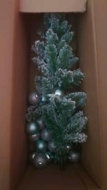 4ft snowy Christmas tree