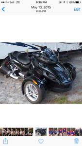 2012 CanAm Spyder RS