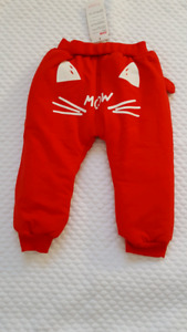 Brand new toddler winter  thick pants for sell