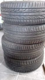 4 nearly new Matrac tyres