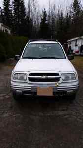2002 CHEVY TRACKER FOR SALE Prince George British Columbia image 3