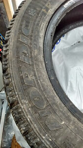 Used GOODYEAR NORDIC Winter Tires - 16 inch