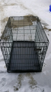 Like new large dog kennel - perfect condition!