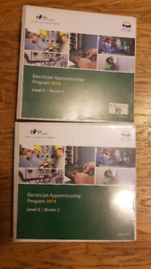 Electrical Apprenticeship binders level 3 and 4