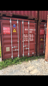 Storage containers/shipping containers/seacans. Mint condition