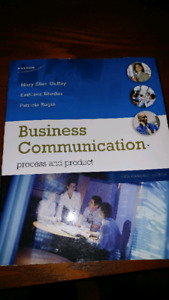 Business Communication: process and product 6th Canadian edition