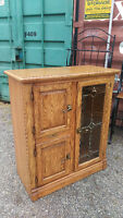 Stunning Solid Wood Shelving Unit Cabinet