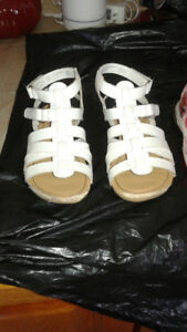 Girls sandals and dress boots in Excellent Condition.