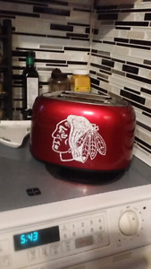 Chicago Blackhawks toaster