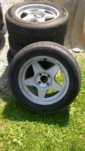 """16"""" rims and tires 4x114"""