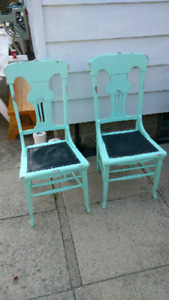 Chairs. Pair of vintage chairs
