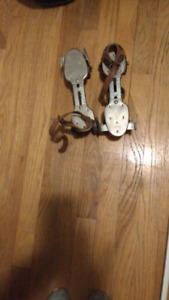 Any size Antique roller blades