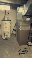 FURNACE/ AIR CONDITIONER A-C/ WATER TANK/ ROOFTOP / DUCT WORK