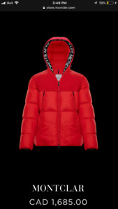 Brand New Moncler Monclar puffer down Jacket Size 1 (small)