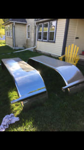 Stainless Steel Fenders 133""