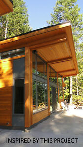 SAVE Today! Tamlin's Contemporary Timber Cabin!