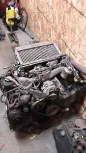 moteur wrx 2002