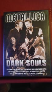 DVD de Metalica DARK SOULS