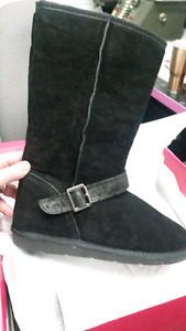 "NEW ""No Angel"" Suede Black boots! (Ugg style)"