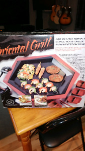 Grill style raclette oriental
