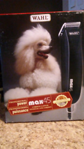 WAHL MAX 45 corded clippers (dog grooming kit)