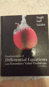 Fundamentals of Differential Equations and Boundary 6th Edition Kitchener / Waterloo Kitchener Area image 1