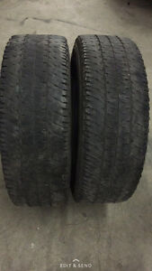2 Michelin LTX A/T2 - LT275/70/18 - 50% - $40 For Both