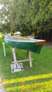 14 FT Fiberglass Cargo Canoe (Square Back)