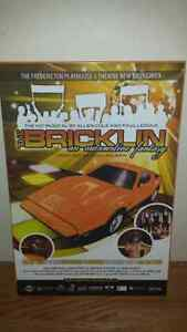 BRICKLIN THE MUSICAL PLAY POSTER MOUNTED PLAQUED