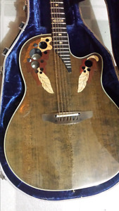 1984 colector worth 1200. Electic/acoustic