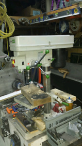 Drill press and bandsaw