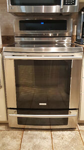"""Electrolux 30"""" Stove and Oven with Warming Drawer"""