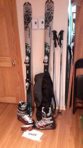 ensemble de ski alpin neuf